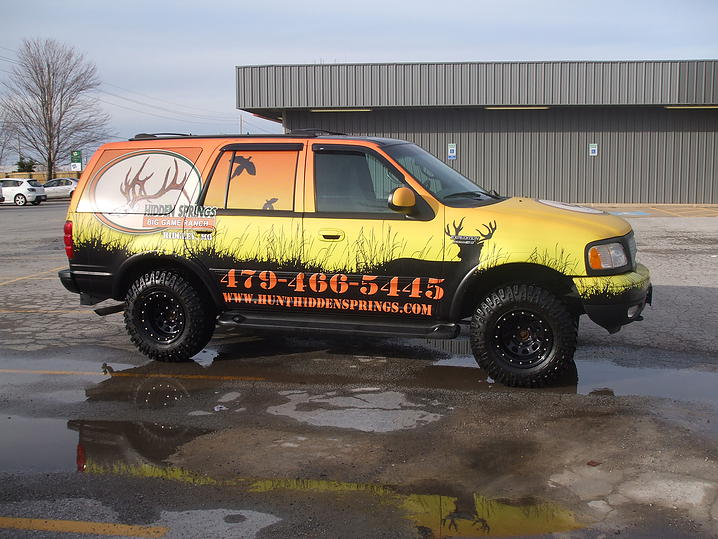 Vehicle Wrap / Graphic 10